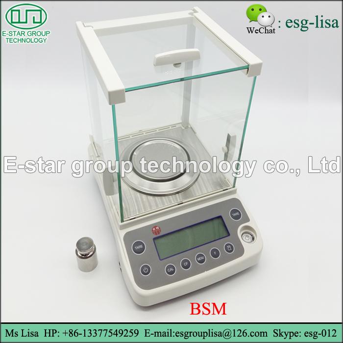 Laboratory weighting 0.1mg analytical balance