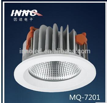 High power 10w 113mm cutout led down lights