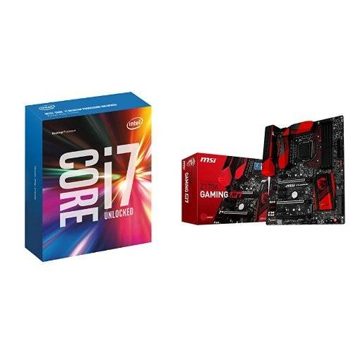 Intel Core I7-6700K with MSI Z170A M7 Gaming Motherboard Bundle