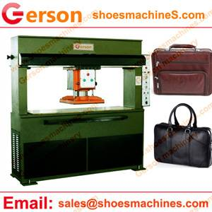 Cow Leather Briefcases Die Cutting Machine