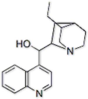 (R)-((1S,2S,4S,5R)-5-ethylquinuclidin-2-yl)(6-methoxyquinolin-4-yl)methanol,