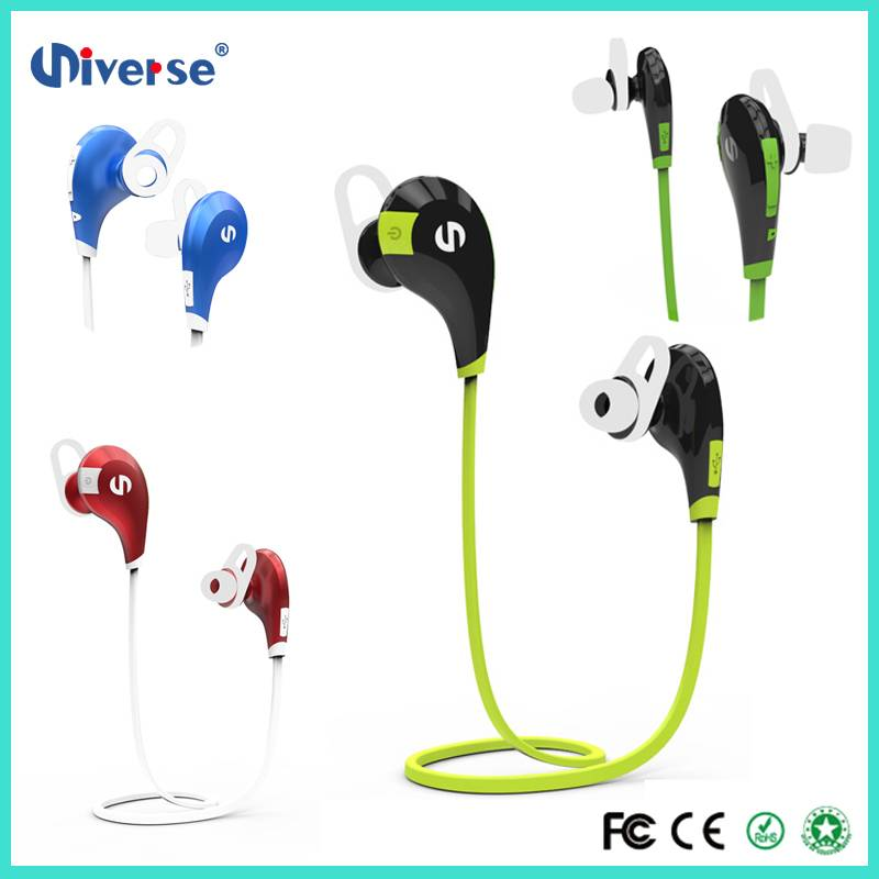 Cheap promotion price fashionable design stereo earphone bluetooth