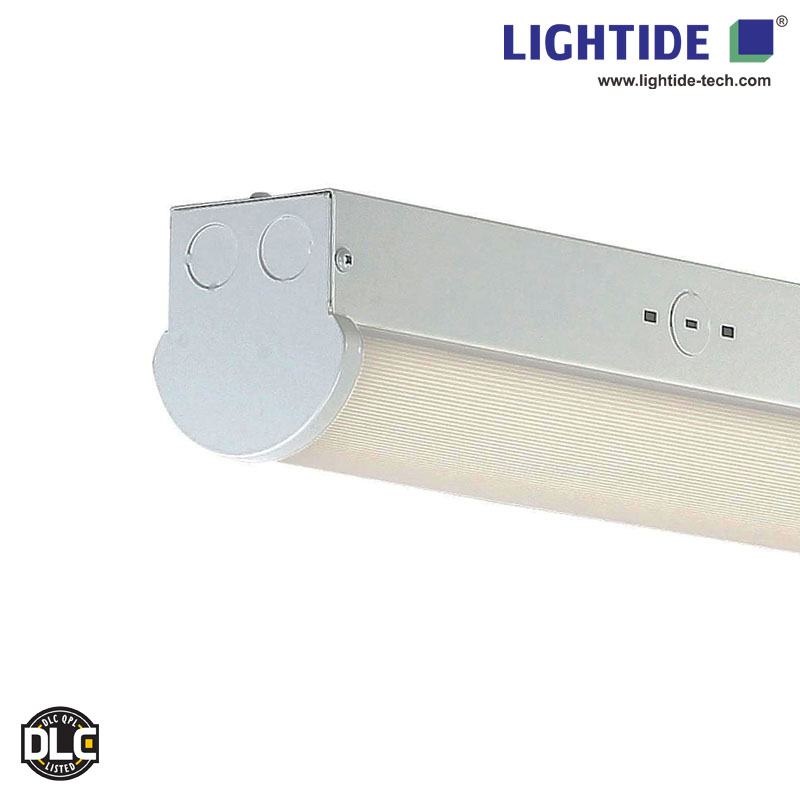 DLC qualified 4FT Linear LED Strip Light Fixture 30W-40W, 100-277VAC, 5-yrs warranty