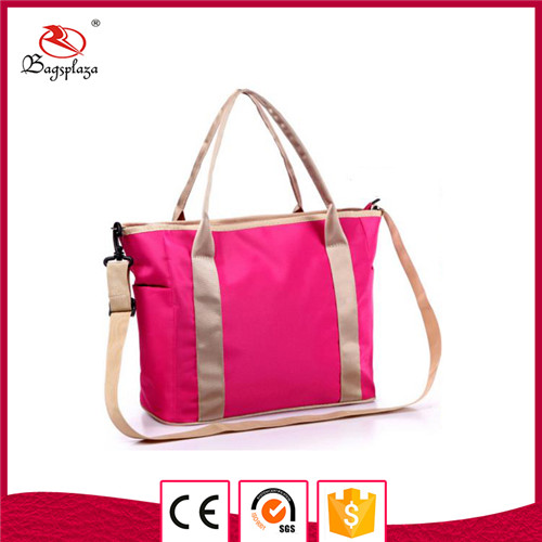 Hot selling nylon mommy tote bag diaper changing organizer bag family travel bag