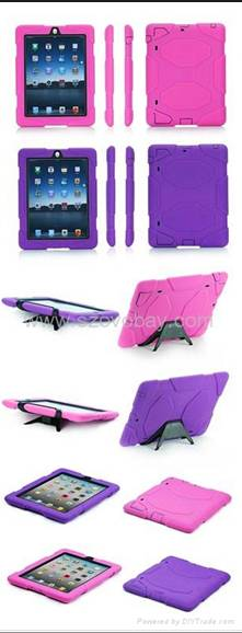 Orignal quality Griffin survivor new ipad/ipad2 case with retails package 1:1top