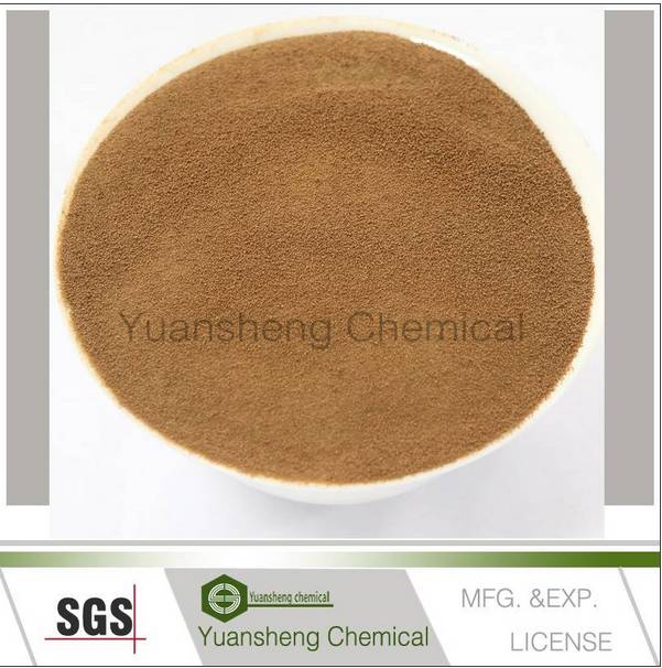 Calcium lignin sulfonate/plasticizer concrete admixture/calcium lignosulfonate mg