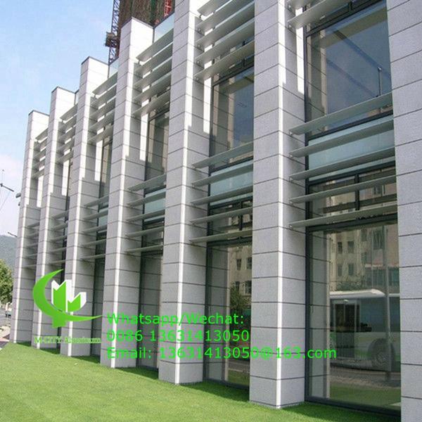 aluminum louvers horizontal louver fixed on outdoor