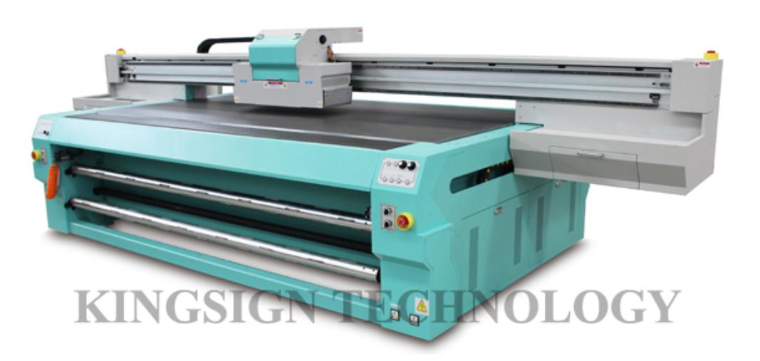 UV Flatbed Printer (KJ-2512FR)