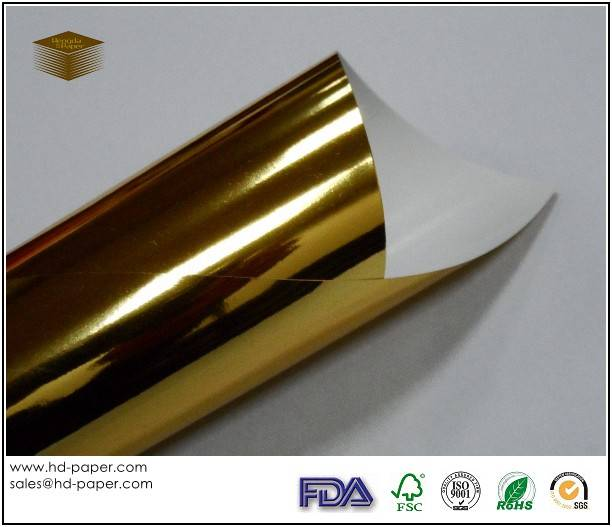 Colour Metallized Paper