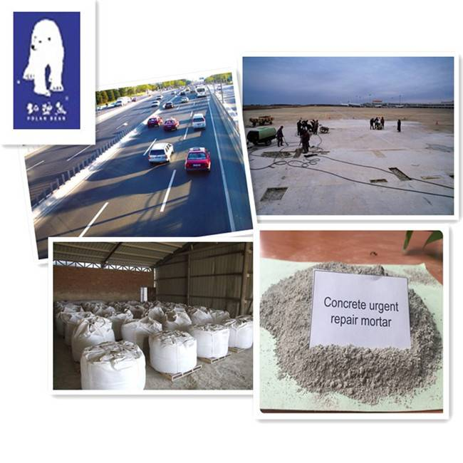 Concrete Surface Cement Based Rapid Hardening Anti-crack Repair Mortar