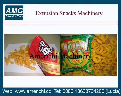 Corn snacks machine