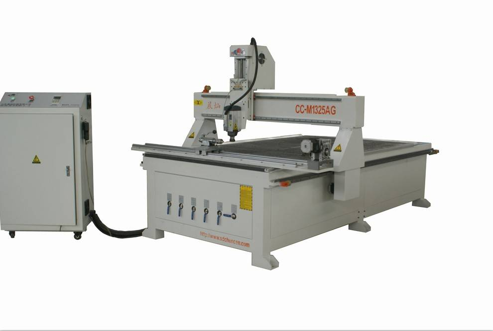 Wood CNC Router Machine with Rotary Axis
