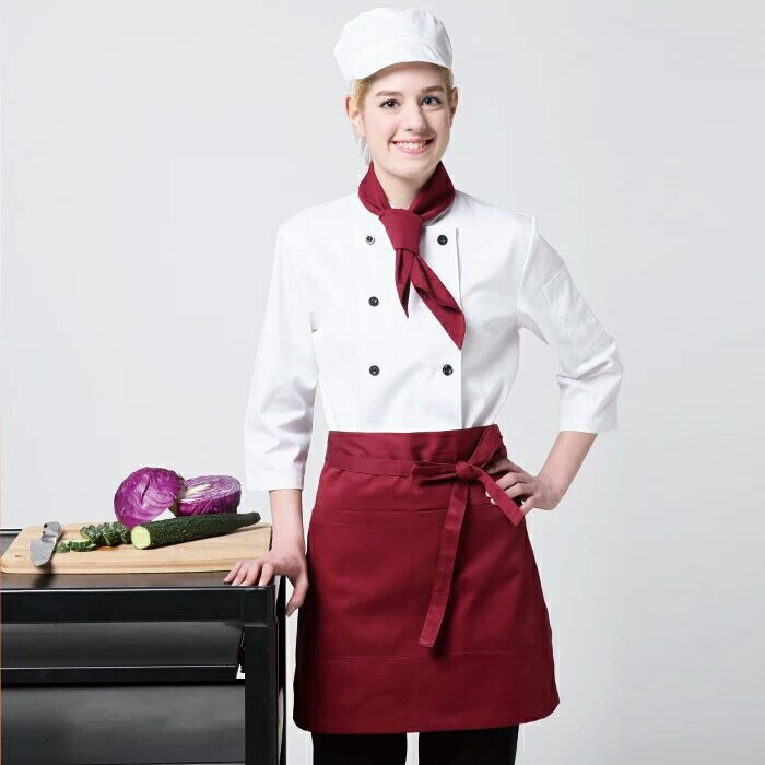 Chef apron housekeeping aprons women apron