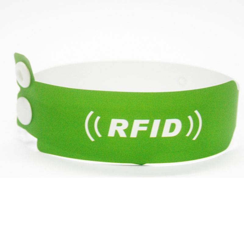 RFID Paper Wristband for Hospital Management