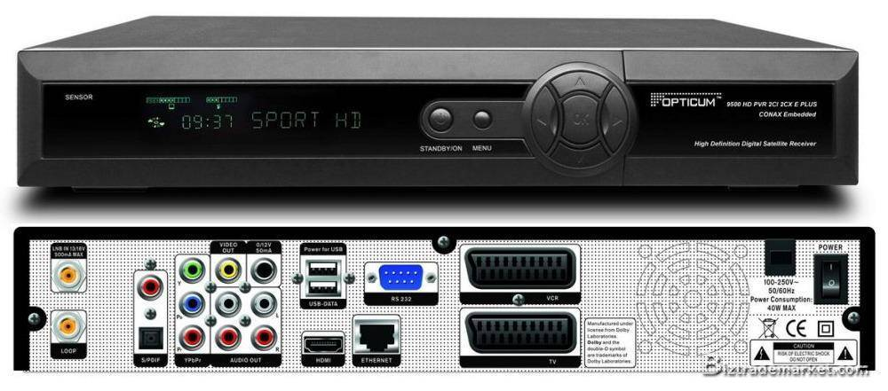 Opticum 9500HD Digital TV Receiver