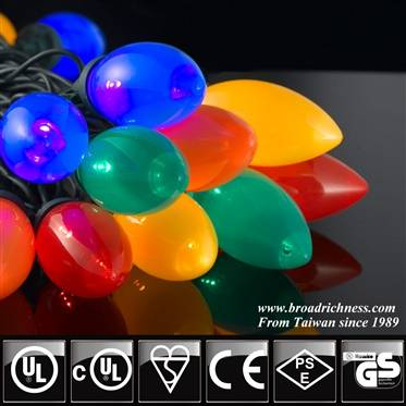 C9 LED string light UL Listed