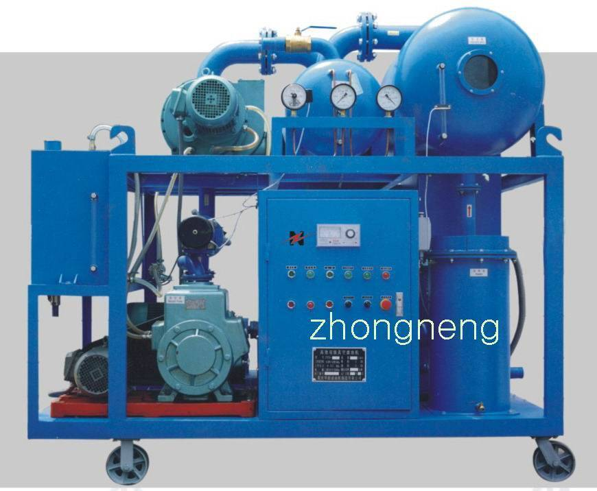 Double-Stage highly  vacuum insulating oil purifier ( Mobile: 0086-13638304669 )