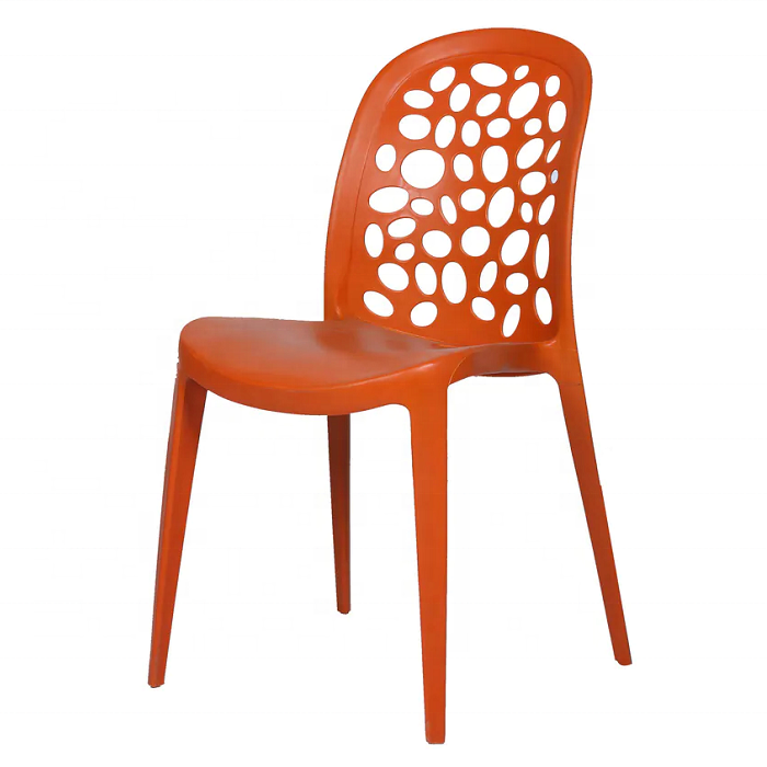 Wholesale home back office table cafe tea shop outdoor leisure plastic dining chair