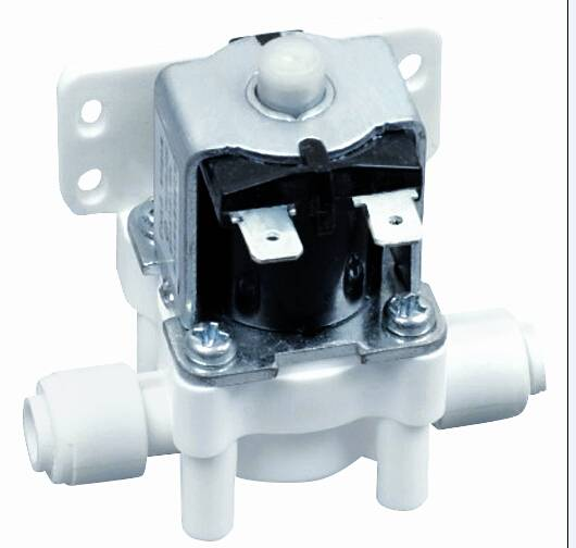 """Normally Open solenoid valve with 1/4""""quick conenct for RO machine"""