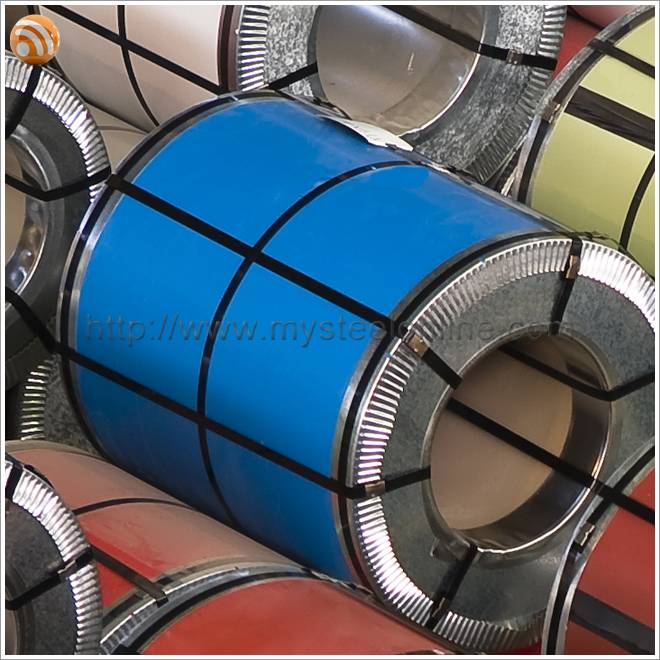 Traffic Blue Color Coated Steel Coil for Construction