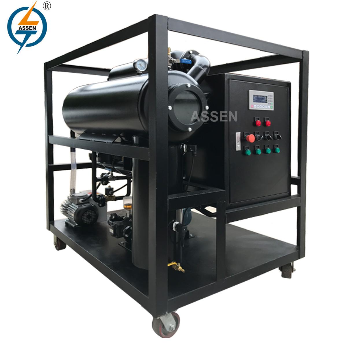 ZY Portable Vacuum Transformer Oil Purification Plant
