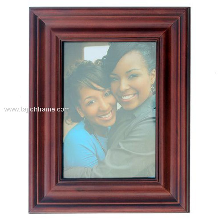 Elegant Wide Linear Wooden Photo Frame