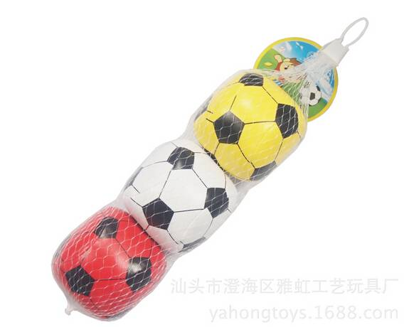 soft soccer ball pvc leather pp cotton