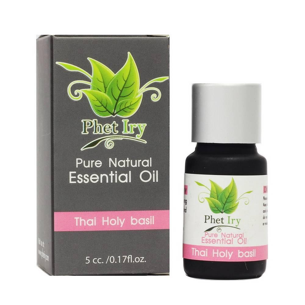 Pure, natural essential oil Thai Holy Basil