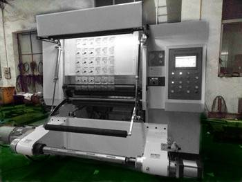 Automatic inspection slitter machine