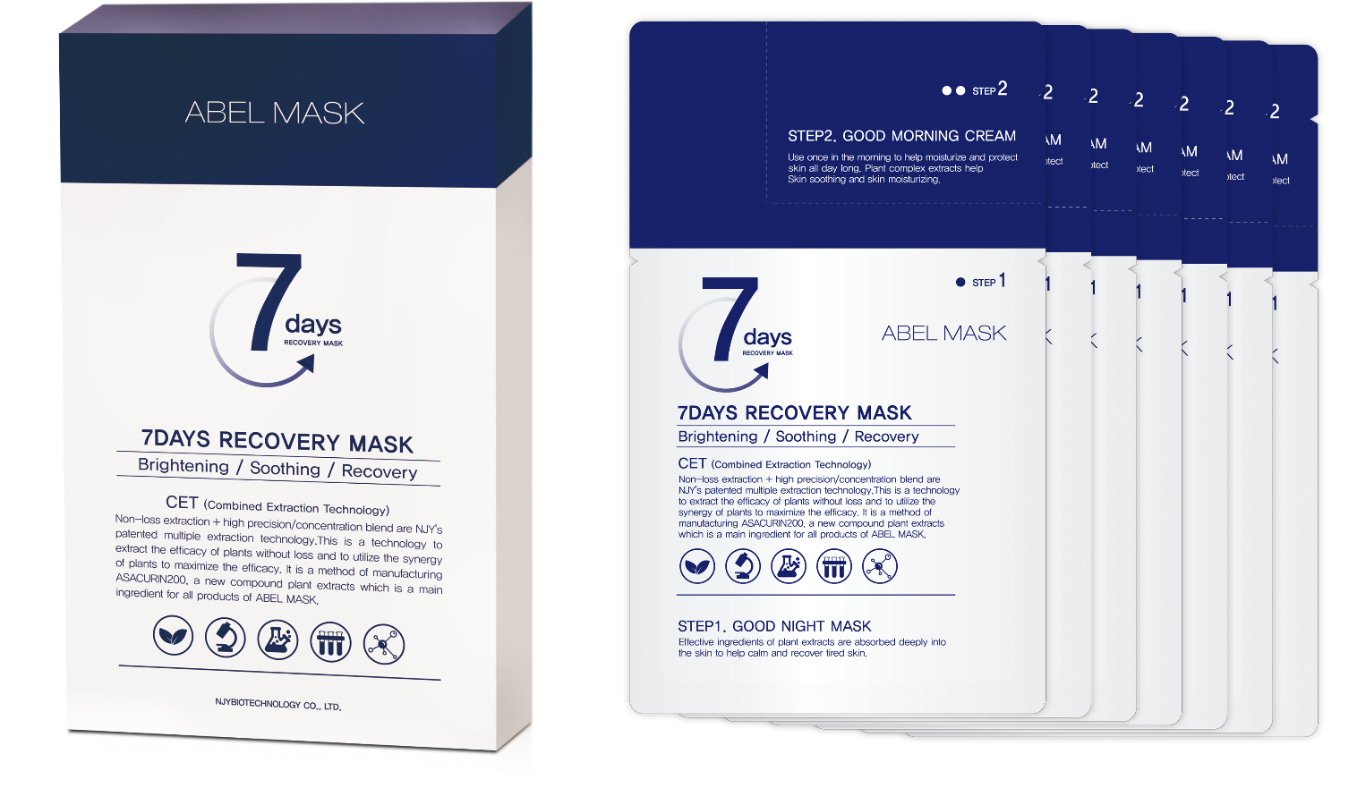 7 Days Recovery Mask