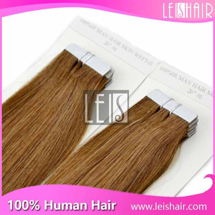 The newest best quality of tape in/skin weft hair extensions
