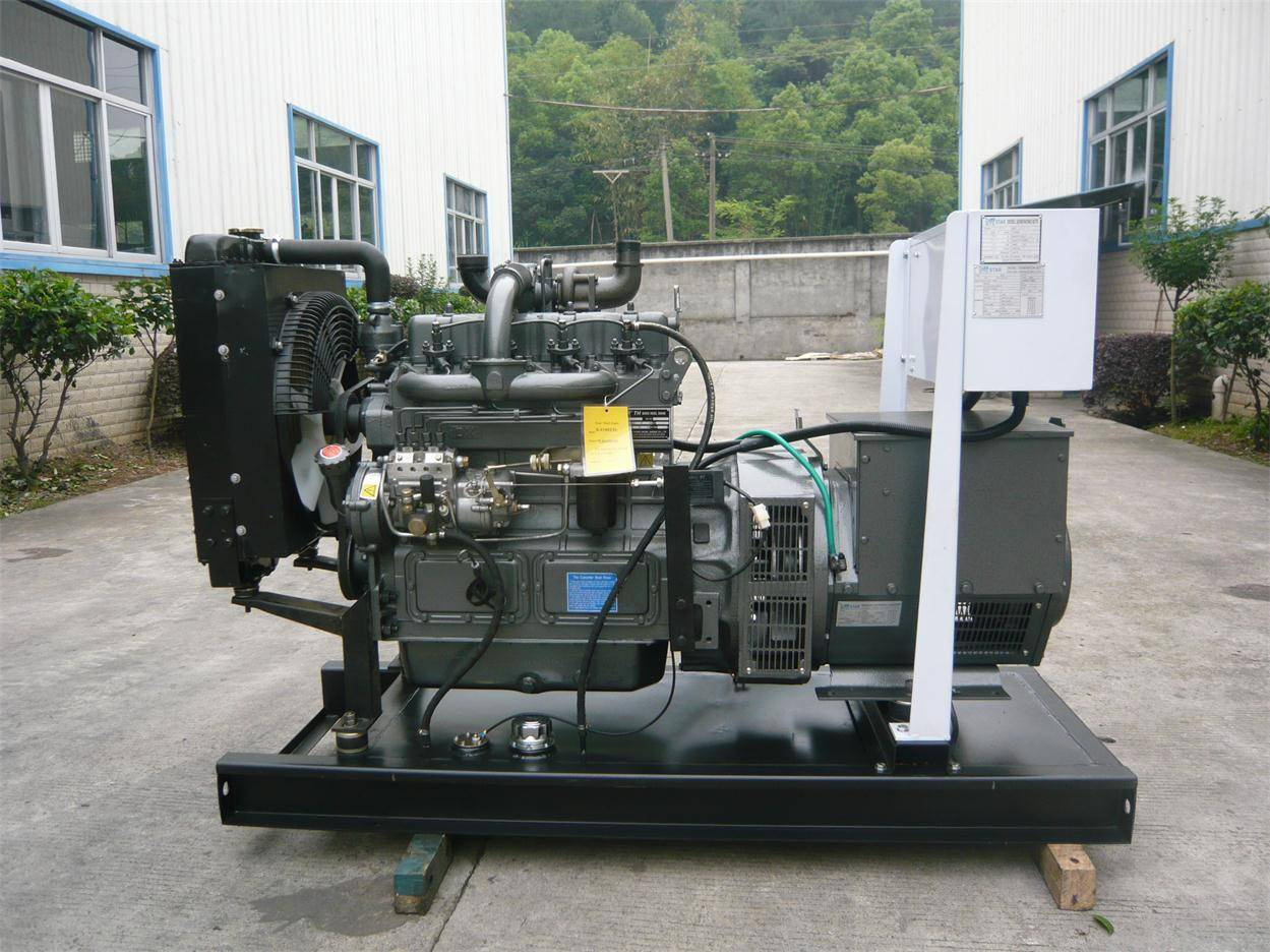 China Weifang Tianhe Diesel Power Generator Set (25KW-180KW) with CE/Soncap/CIQ Certifications