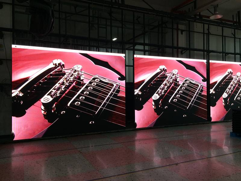 rental P3 indoor led screen full color