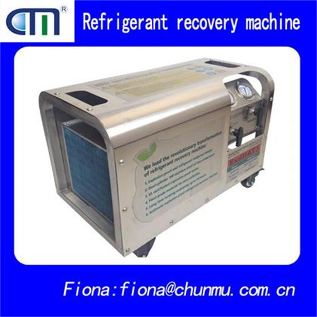 R1234YF,R290,R32,R600A nanjing wholesaler explosion proof refrigerant recovery machine at factory pr