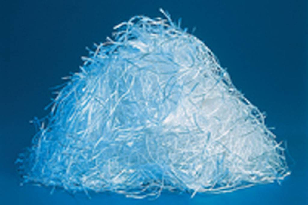 Chopped glass fiber
