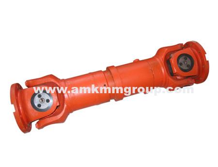 Universal shaft coupling