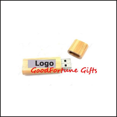 Wood Customed U Disk print logo usb