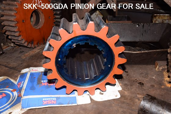 USED SKK-500GDA & OTHER MODELS OF PINION GEAR
