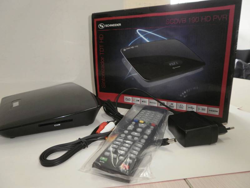 HD Mpeg4/H.264 DVB-T Receiver, HDMI, Common Interface, CI/CAM, DVBT7821HDCI