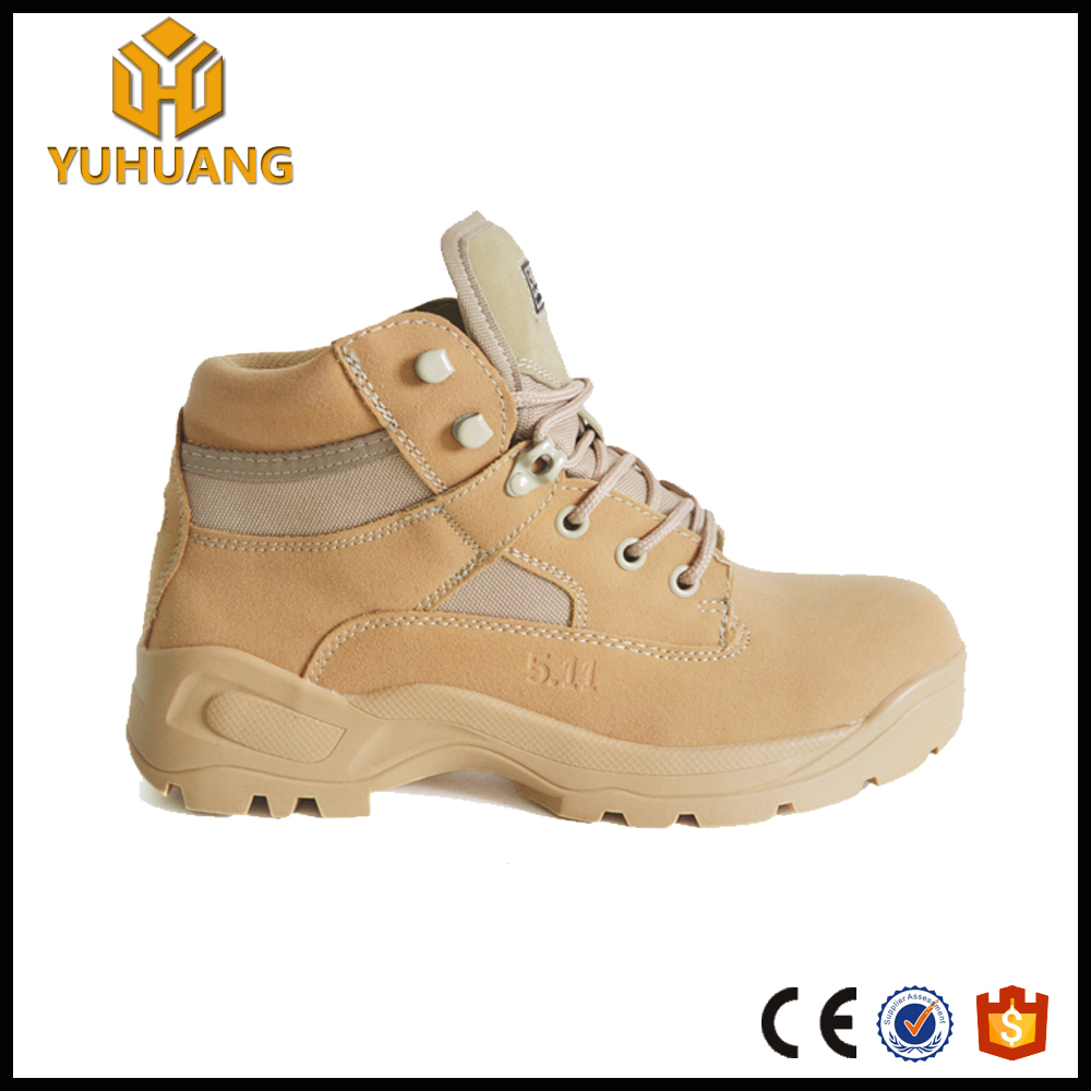 cheap leather upper military tactical desert suede army boots