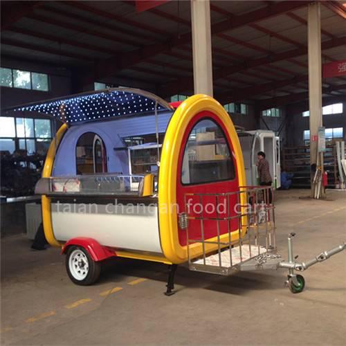 Hot Sale Hamburger Customized Mobile Food Cart