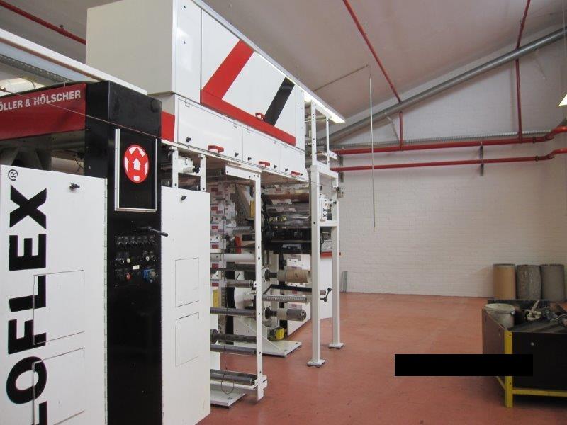 CI FLEXO PRESS MACHINE