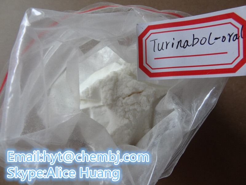 Anabolic Steroid Powder Oral Turinabol for Sale CAS: 2446-23-3