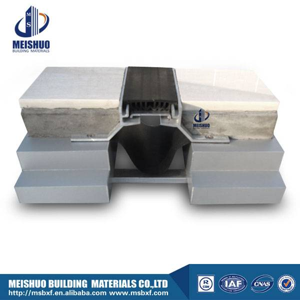Floor aluminum neoprene expansion joints MSDDJ