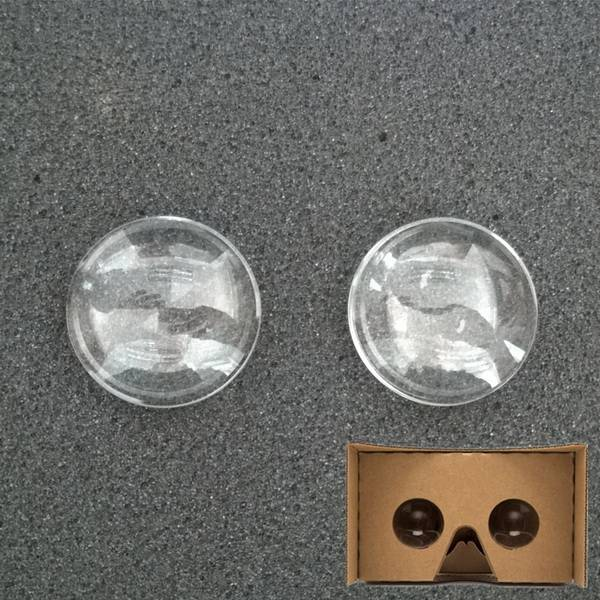 Google Cardboard lenses 37mm Acrylic lenses the focal length 45mm double convex lenses