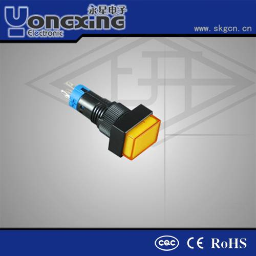 10mm voltage indicator momentary push button switches