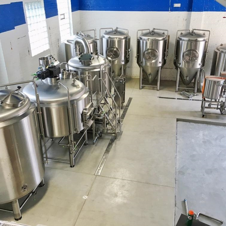 500L Complete Craft Beer Brewing Machinery