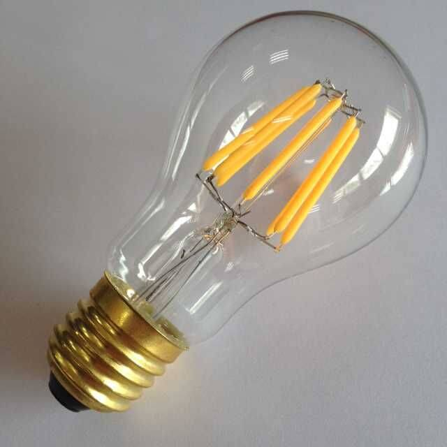 low energy saving LED filament A19 8W dimmable UL etl