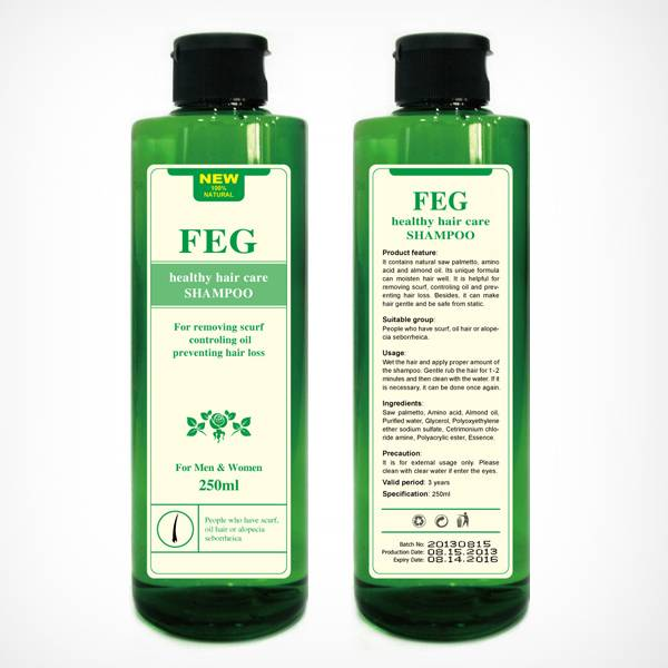 FEG healthy hair care,removing scurf, controling oil, preventing hair loss