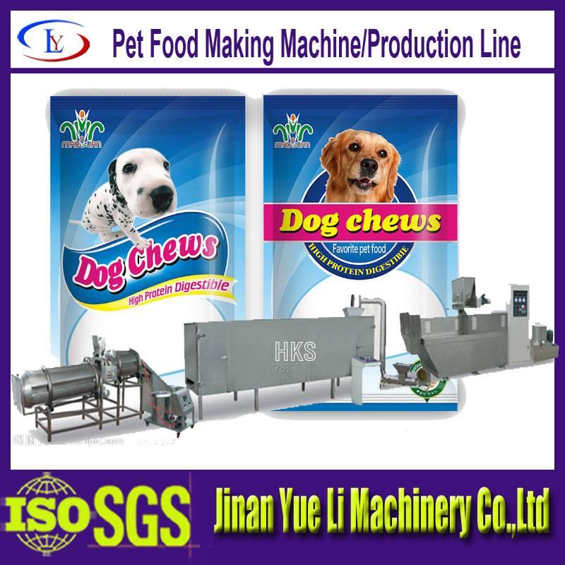 Hot sell Dog Gum Food Machine/Pet food making machine